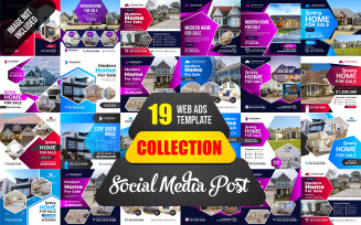 Post and Web Ads Bundle Social Media