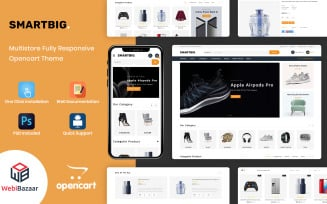 SmartBig - Responsive OpenCart Template