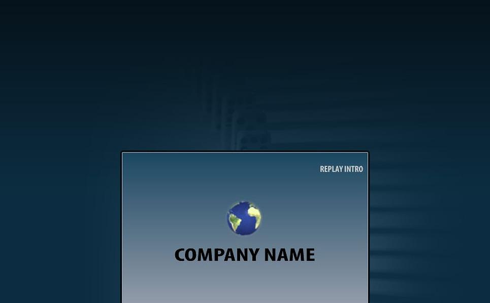 Szablon Intro Flash #18366 na temat: biznes i usługi New Screenshots BIG