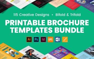Professional Brochure Template Bundle