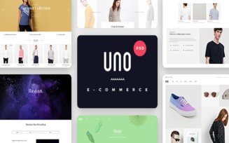 Aloxa Online Store Store PSD Template