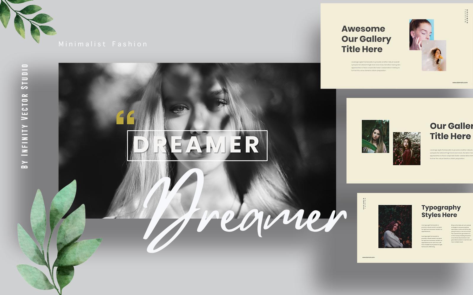 Dreamer Lookbook Keynote-sjablonen