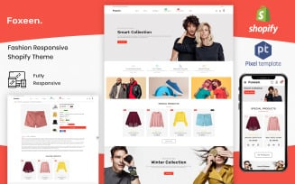 Foxeen - Modern Fashion Shopify Template