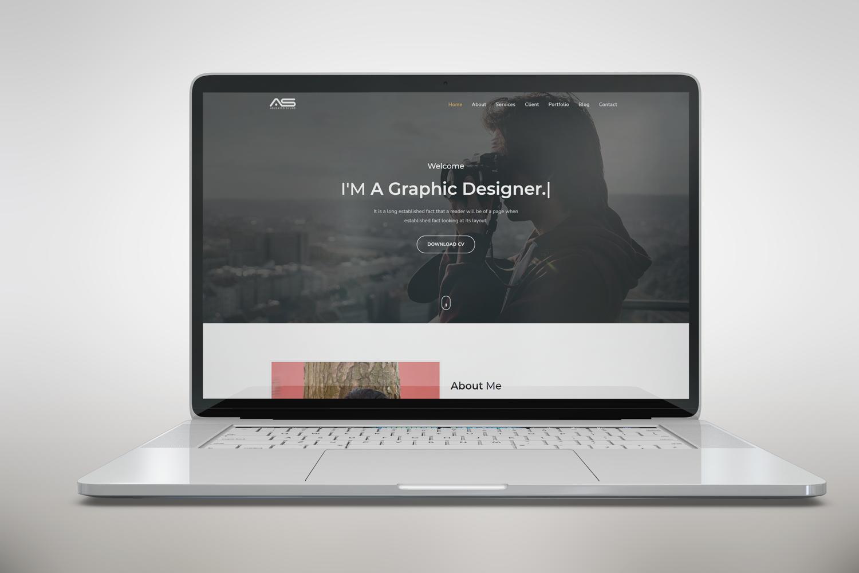 Shuvo - Responsive One Page Portfolio Template
