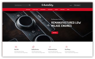 Autosity - Autoparts Store Opencart Theme