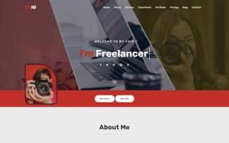 Cvio - Personal Portfolio Landing Page Template