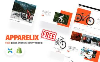 Apparelix Free Bikes Store Shopify Theme