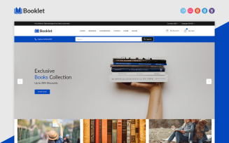 Booklet - Book Responsive OpenCart Theme
