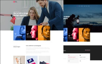 Keth Studio Digital Agency & Business Premium HTML5 Website template