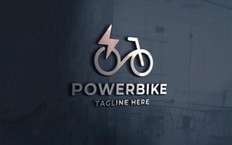 Professional Power Bike Seller Logo template