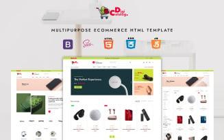 DigiCatalog - Multipurpose eCommerce HTML Template