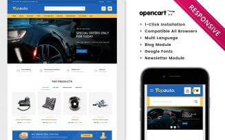 Topauto - Automobile Store Premium OpenCart Template