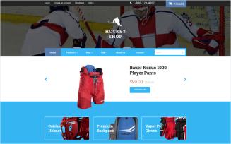 Hockey - Free Responsive Shopify Theme