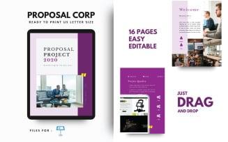 Project Proposal Corporate Company Keynote Template Presentation