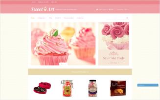 Sweet Shop - Free Responsive Shopify Theme