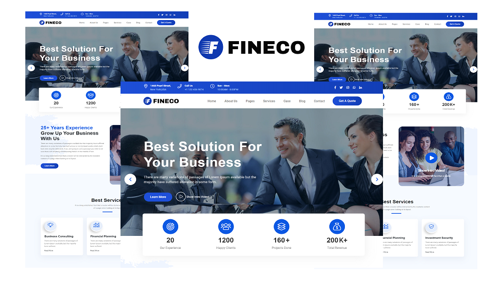 Fineco - Finance and Consulting HTML5 Template