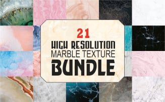 Bundle of 21 Marble Texture and Background High Resolution Background