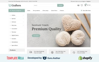Crafter - Art & Furniture Shopify Theme