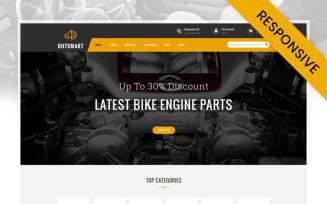 OutSmart - Auto Parts Store Prestashop Responsive Theme