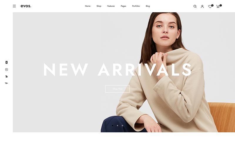 Evos Fashion Store Prestashop-thema