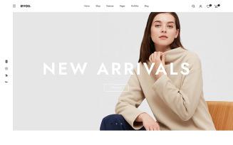 Evos Fashion Store Prestashop Theme