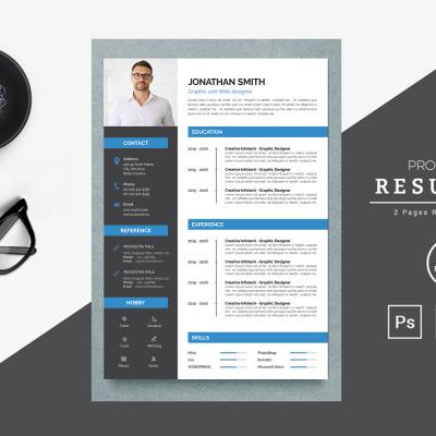 Janthn Printable Resume Templates #183930