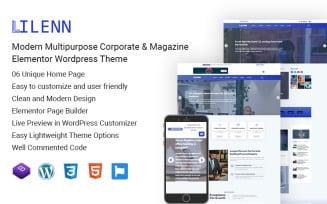 Lilenn-Modern Multipurpose Corporate & Magazine Elementor Wordpress Theme