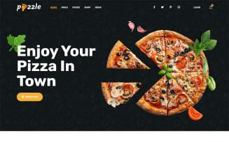 Pizzle - Fast Food & Pizza HTML Template