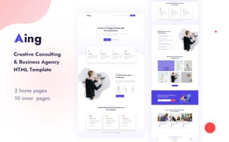 Aing   Creative Consulting & Business Agency HTML Template