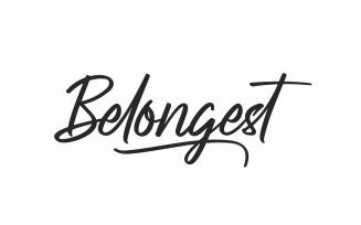 Belongest Brush Calligraphy Script Font