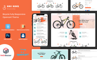 BikeRider - Sport, Bicycle Responsive Opencart Theme