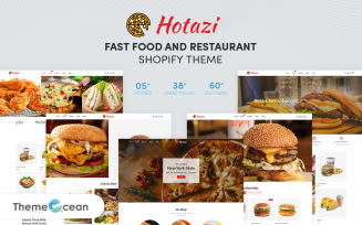 Hotazi - Fast Food & Restaurant Shopify Theme
