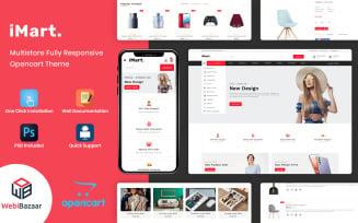 Imart - Multipurpose Ecommerce Online Store Opencart Theme