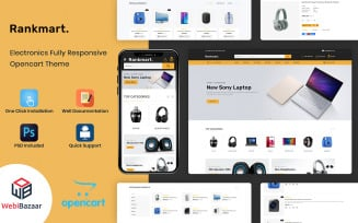 Rankmart - Mega Store OpenCart Template