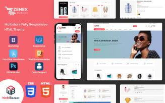 Zenex - HTML5 eCommerce Website Template
