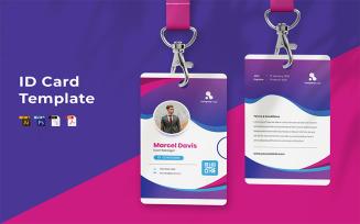 Free Marcel Davis ID Card Template