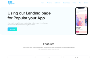 GrocLand - App and Office Free Modern HTML Landing Page Template