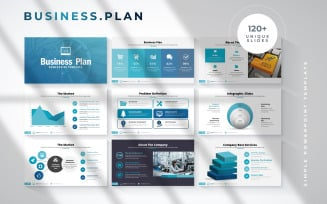 Business Plan Infographic PowerPoint