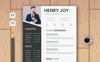 Modern and Professional CV Resume Template