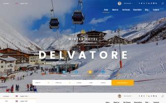 Delvatore - Hotel Booking Bootstrap Template