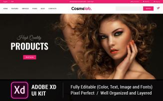 Free Cosmelab-eCommerce UI Elements