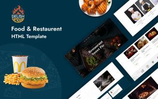 Free Delish - Multipurpose Food & Restaurent HTML Template