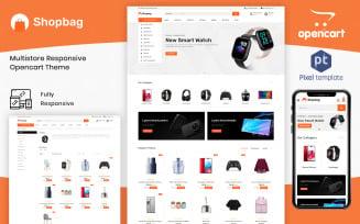 ShopBag - Multipurpose Electronic OpenCart Template