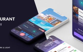 Cabar iOS Mobile App UI Elements