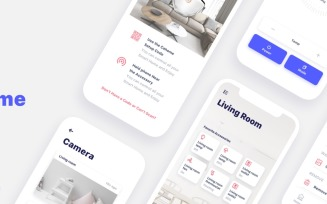 Cahome - Mobile App UI Elements