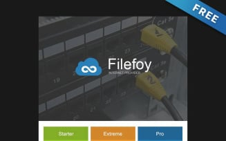 Filefoy - Free Internet Provider Newsletter Template