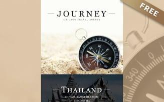 Journey - Free Travel Agency Responsive Newsletter Template