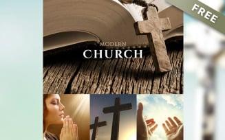 ModernChurch - Free Church Newsletter Template