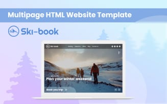 Ski-book — Ski Multipurpose HTML Website Template