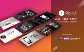 StickOut WordPress Theme – Social Media Management Agency Theme